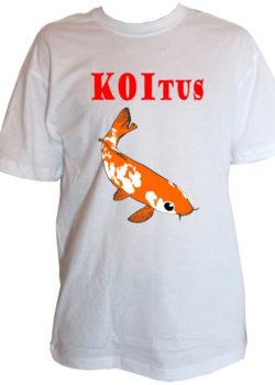 """Herrenshirt """"Koitus"""""""