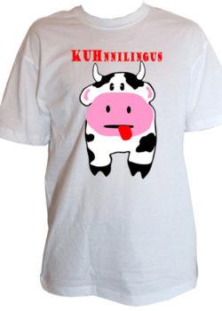 """Herrenshirt """"KUHnnilingus"""""""