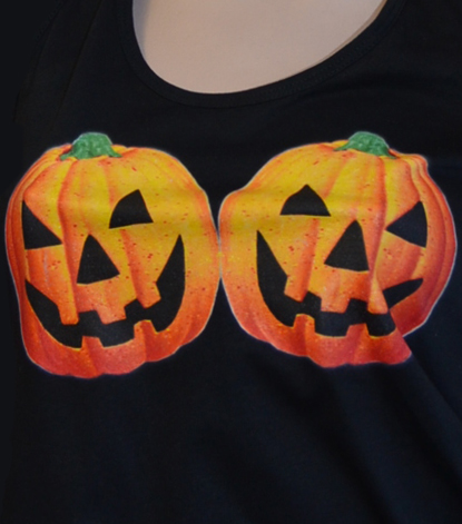 hallo titties, halloween titten