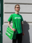 hütteldorf grün shirt + tasche