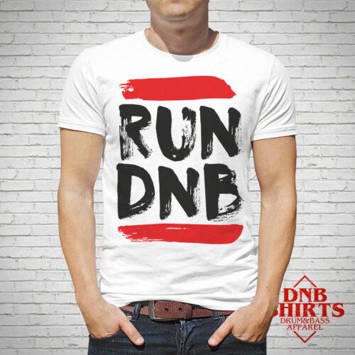 Run Dnb Drum and Bass Shirts Vienna