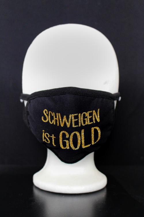 masken schweigen ist gold