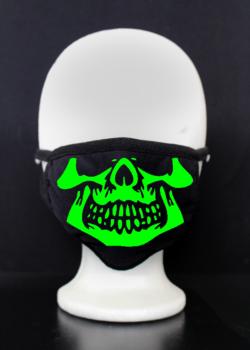 Maske skull wien bedruckt