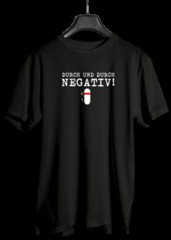 negativ herren shirt corona
